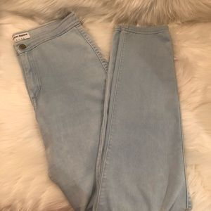 American Apparel High Waist Skinny Jeans Size M
